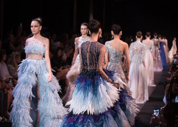 final du defile georges hobeika