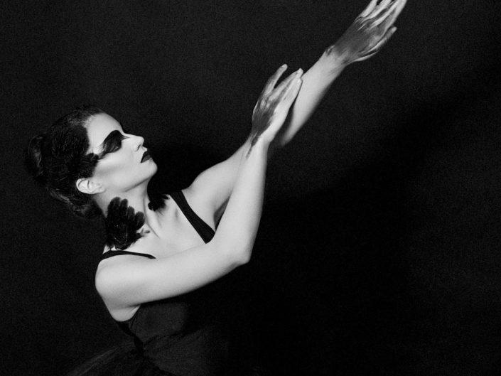 danse classique noir et blanc