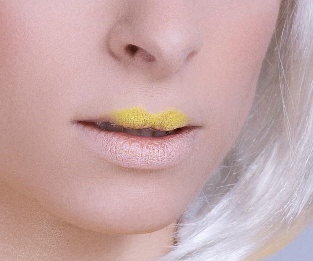photo beaute close up jaune