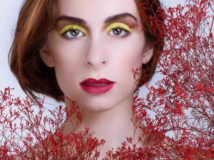 portrait beaute rouge
