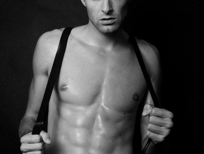 homme photo mode noir et blanc